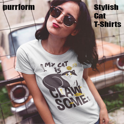 Purrform Stylish Cat T-Shirts!
