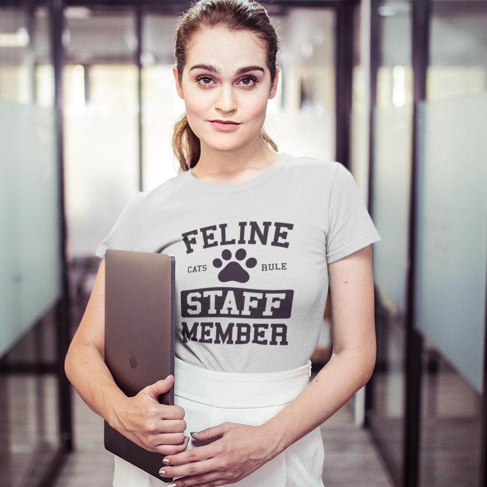 Feline Staff Member