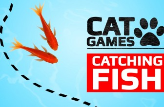 CAT GAMES – CATCHING FISH (VIDEOS FOR CATS TO WATCH)