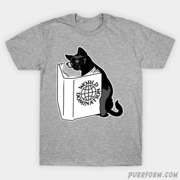 Cat World Domination T-Shirt