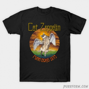 Cat Zeppelin T-Shirt