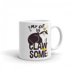 My Cat Is Clawsome Mug