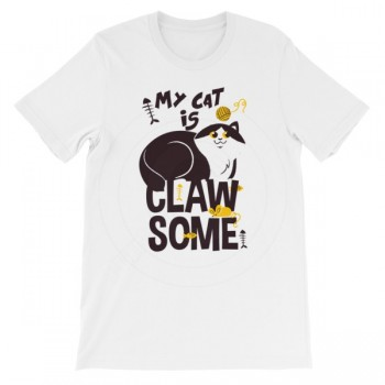 My Cat Is Clawsome T-Shirt