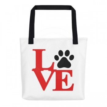 Love Paw Tote Bag