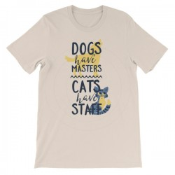 Cats Have Staff T-Shirt