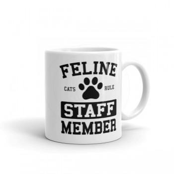 Feline Staff Member Mug