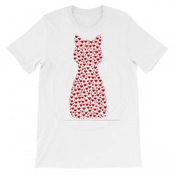 Heart Cat T-Shirt