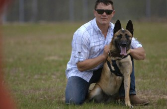 Soldier Adopts Dog That Saved His Life