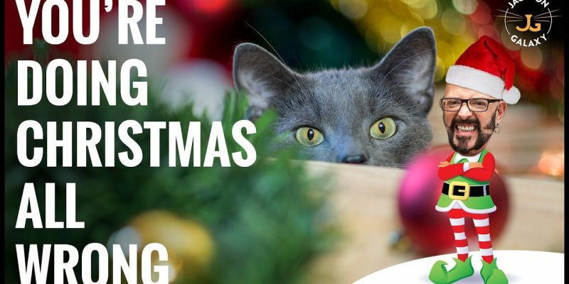 The Ugly Truth About Cats and Christmas Trees Video